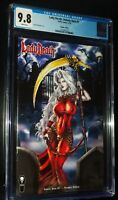LADY DEATH: UNHOLY RUIN #1 2018 Naughty Variant Coffin Comics CGC 9.8 NM-MT