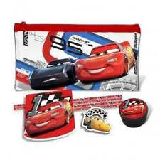 Disney Pixar Cars 3 Pencil Case - Filled Pencil Case With Stationery