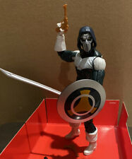 EEG! Custom Marvel Legends Kitbash Udon Taskmaster w 4 Weapons & Shield