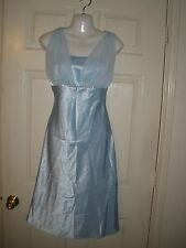 #493 Juniors  Dress S Fiesta Cinderella Princess Baby blue Formal Gown Cocktail