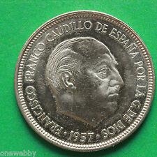 1957 (74) Spain 5 Peseta SNo37873