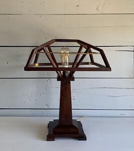 Mission Arts & Craft Wood Lamp