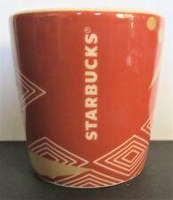 Starbucks 3 Fl Oz Taster Cup 2013 Geometric Multi Color Design