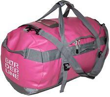 Womens Waterproof Holdall Large Pink Drybag Camping Sailing Travel Duffle Bag