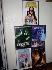 5 Assorted Dvds-American Splendor/Batman Begins/Robot Stories/Hulk/Andy Hardy