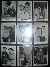 1965 GOMER PYLE COMPLETE CARD SET  FLEER  *NMMT*