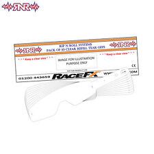 RNR Tearoffs 10pk For EKS Brand MX Goggles