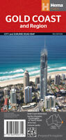 Gold Coast and Region map   New. Latest edition Priority post
