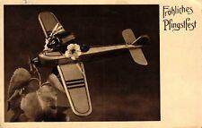 Pfingsten, - interessante AK, bitte Beschreibung lesen -, 1938