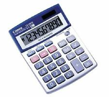Canon 10-Digit Silver Desktop Calculator Angled Display Business Tax Functions