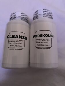 NEW Unopened Sealed Forskolin & Cleanse Dietary Supplement For Weight Loss