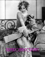 NANCY CARROLL 8X10 Lab Photo B&W '20s Elegant Enchantress holding Roses PORTRAIT
