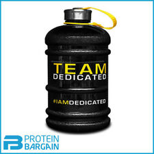 Dedicated Nutrition Water Jug 2.2L BCAA Pre-Workout Bodybuilding Protein Shaker