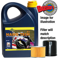 Piaggio Xevo 250 ie 2010 5w40 Oil & Filter Kit