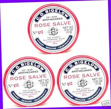 3 Bath & Body Works ROSE SALVE Lip Balm Chap Chapped Knees Hands Cuticles Elbows