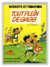 Franquin Modeste et Pompon Tout Plein de Gags Lombard 1973