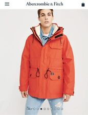 NWT Men's Abercrombie & Fitch A&F 3-in-1 Survival Parka Coat Jacket Small