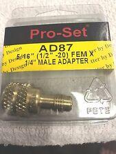 "R410A, 410A, R-410A Special Low-Side ADAPTER, 5/16""FM X 1/4""MF CPS AD87"