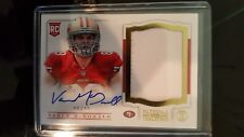 2013 National Treasures Gold Vance McDonald 1 Clr Patch On Card Auto Rc # 48/49