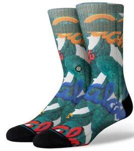 STANCE Socks Aloha Leaves green Herren/Unisex NEU