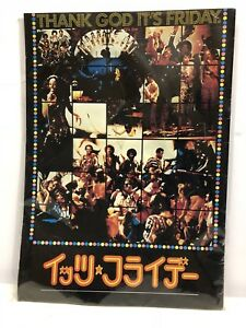 Thank God it's Friday Columbia Pictures Donna Summer Commodores Concert Program