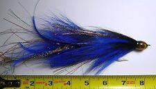 Articulated Miller Muskie Black /Blue - Double 5/0 Hooks