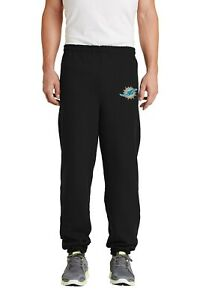 Miami Dolphins Embroidered Sweat Pants - no pockets
