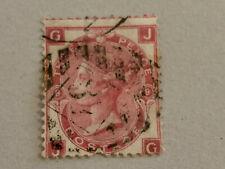 1872 Queen Victoria, 3d vintage postage stamp, SG 103, Rose, plate 9, cv £65.00