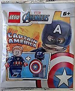 LEGO Marvel Super Heroes Captain America Minifigure Foil Pack Set 242106