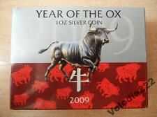 Pitcairn Island 2 dollars Year of the Ox Lunar Calendar silver proof 2009 Coin