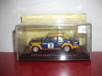 Fiat 131 abarth  m.alen I.KIVIMAKI 1977 IXO altaya Rallye du Portugal 1/43
