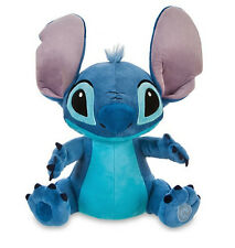 "Disney Authentic Patch Lilo & Stitch BIG Plush 16"" Soft Stuffed Animal Toy Doll"