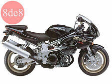 Suzuki TL 1000S (1997) - Workshop Manual on CD