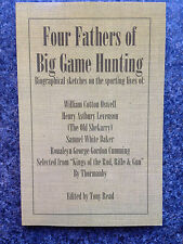 big game hunting africa india lions tigers buffalo hunters hunting rifles