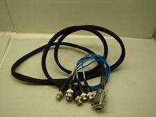 """Rev E Oc-Tcxc-Vinp0 Sub D Female To Bnc Connectors 72""""Cable *Nnb*"""