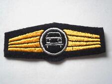 Marine allemande Abz. pour Conducteurs de puissance en bleu/argent machines