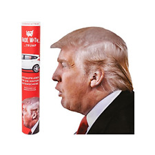 Ride With Donald Trump Funny Car Window Decal Sticker Easy Peel Famous Passenger