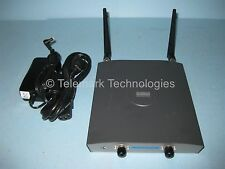 Cisco Aironet 1240 Wireless Access Point AIR-LAP1242AG-A-K9 Dual Antenna & Power
