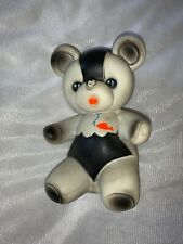 Vintage 5� Reliance Products Panda Bear Squeeze Squeaky Rubber Toy