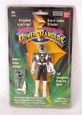 BANDAI '93 POWER RANGERS  ZACK BLACK RANGER 12 CM GIOCHI PREZIOSI!!NUOVO!!