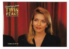 TWIN PEAKS GOLD BOX POSTCARD #25 LAURA PALMER (SHERYL LEE) BLACK LODGE