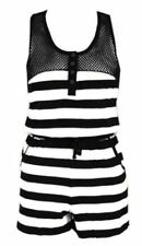 Cotton Scoop Neck Sleeveless Jumpsuits & Playsuits for Women
