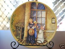 Ceramic Decoration Plate French Country Life 20.5cm C