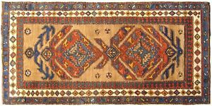 Antique Persian Camel Hair Serab Oriental Rug, in Small Runne, w/ FREE SHIPPING!