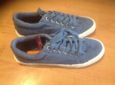 Ladies  Lovely Blue Rocket Dog Canvas Shoes, Size 7/40 New Shop Clearance