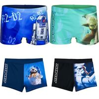 Boys Kids Children Teenage Star Wars Swim Shorts Boxer Swimming Trunks 4-12 yrs