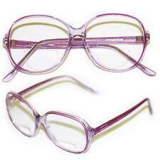 "Bifocal Reading Glasses Women's Classic Large "" PURPLE Violet "" Frame +1.25 Lens"