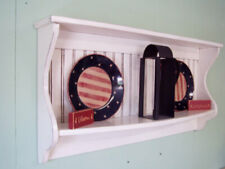 Plate Holder / Primitive Home Decor / Plate And Platter Display / Bowl Rack