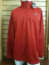Adidas Men's Sweater Sports Zippered Pullover Size L Nwt