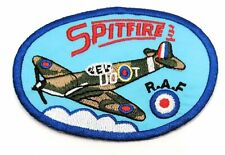 Vickers Super Marine Spitfire Aircraft Company Iron on Embroidered Patch#1241